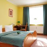 Pokoj dwuosobowy w Hotelu Trzy Światy w Gliwicach