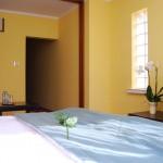 Pokój dwuosobowy double lux w Hotelu Trzy Światy w Gliwicach