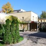 Hotel Trzy Światy w Gliwicach z zewnątrz