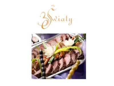 Oferta cateringowa zimna płyta w restauracji 3 Światy Gliwice